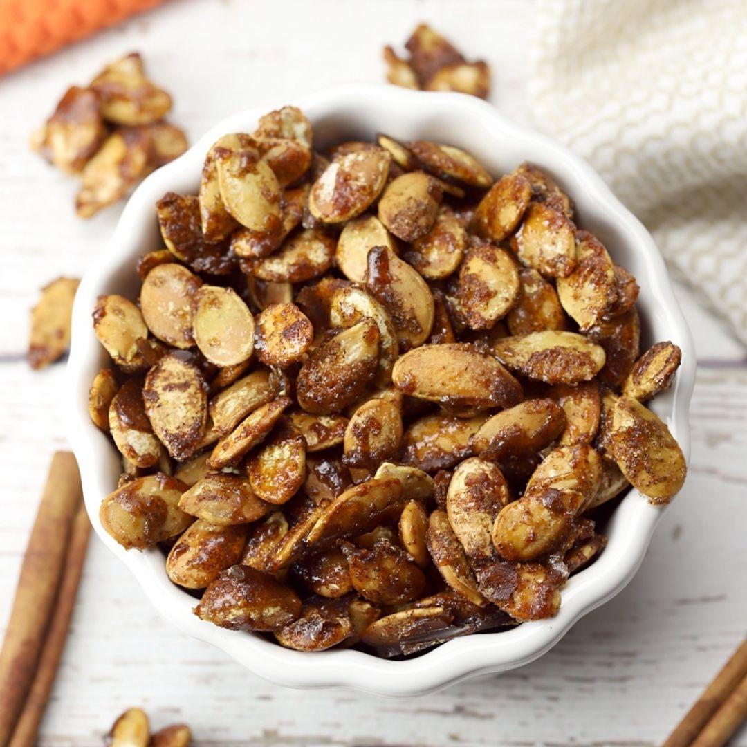 Caramel Pumpkin Seeds
