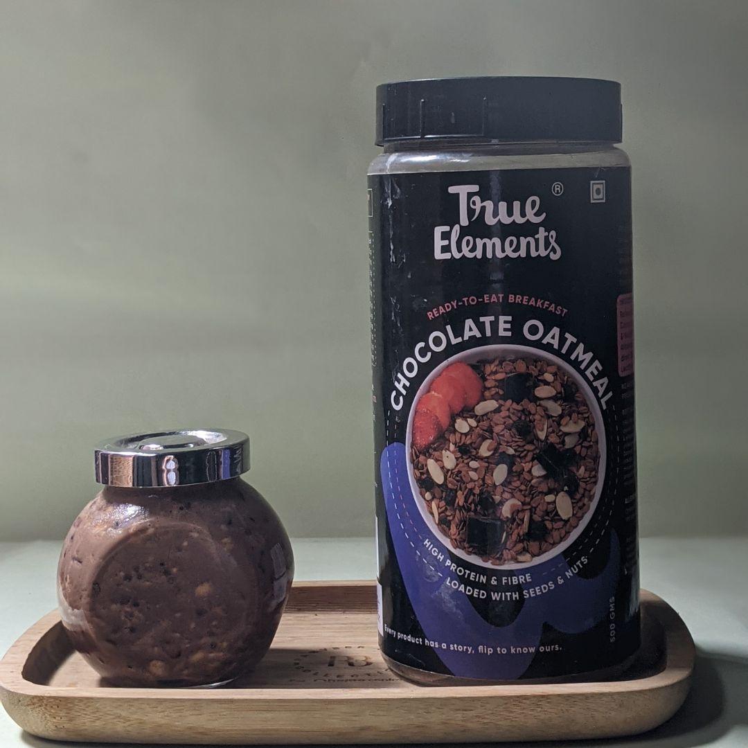 Chocolate Biscoff Oats