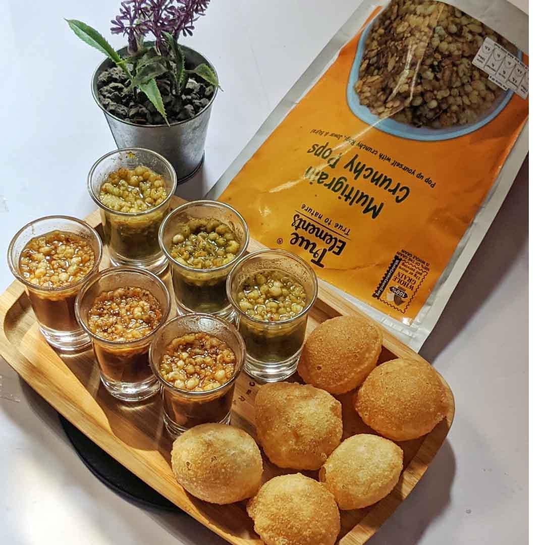 Crunchy Pani Puri