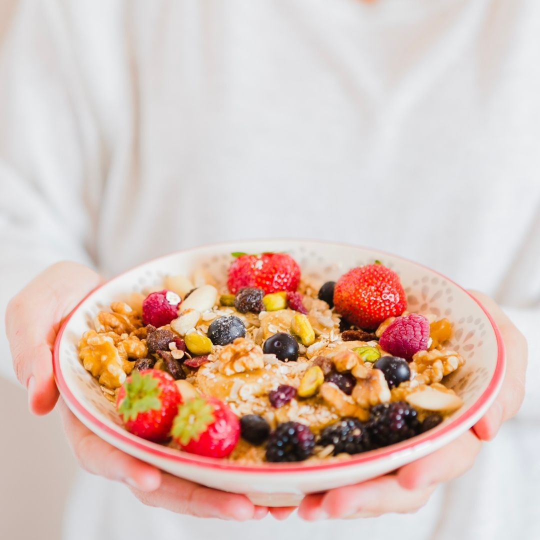 Fruit and Nut Oats