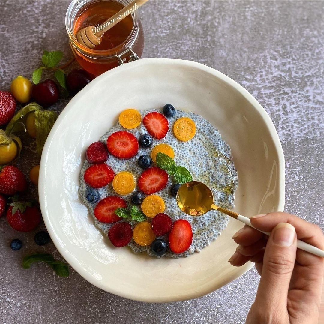 Fruit Chia Pudding