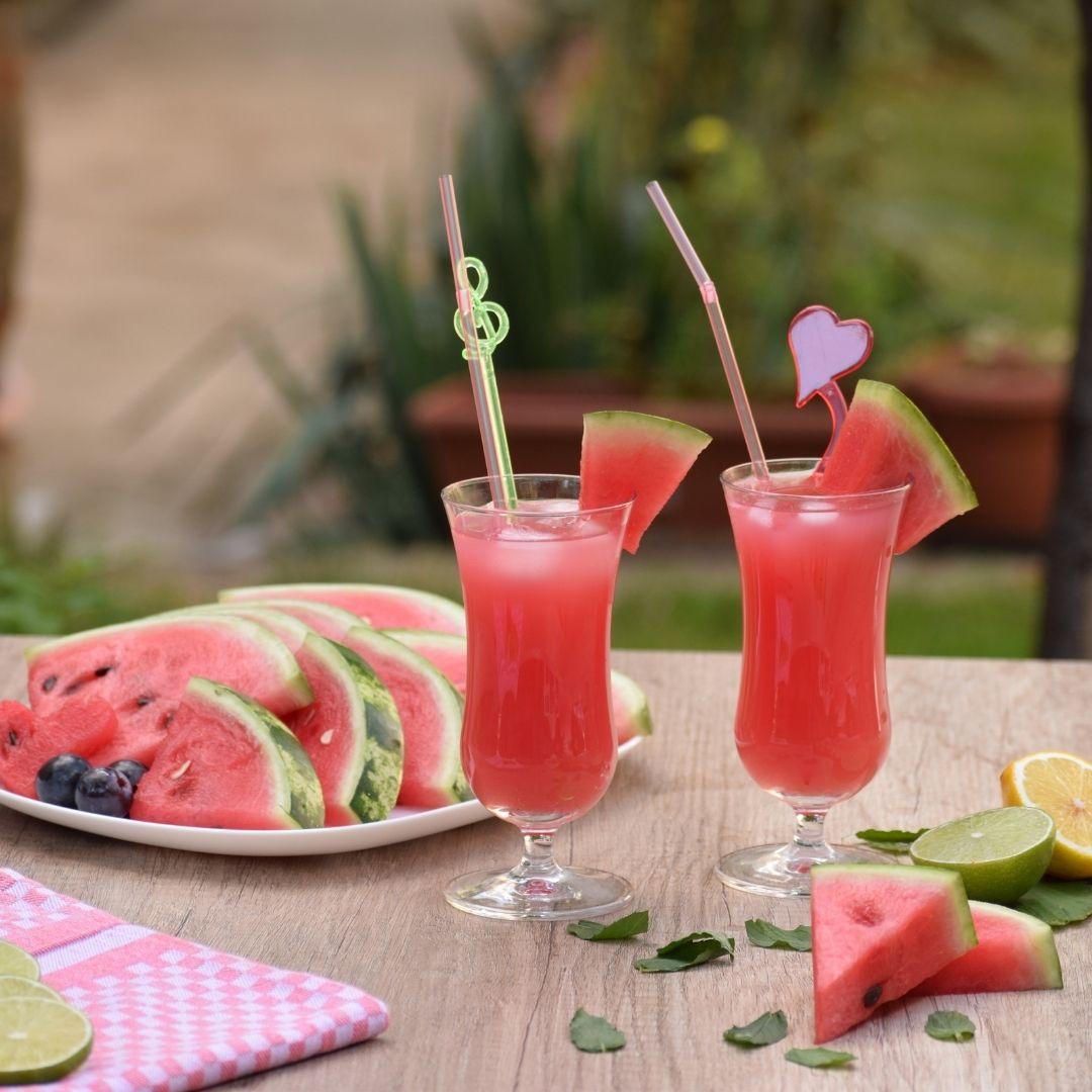 Melon Chia Cooler