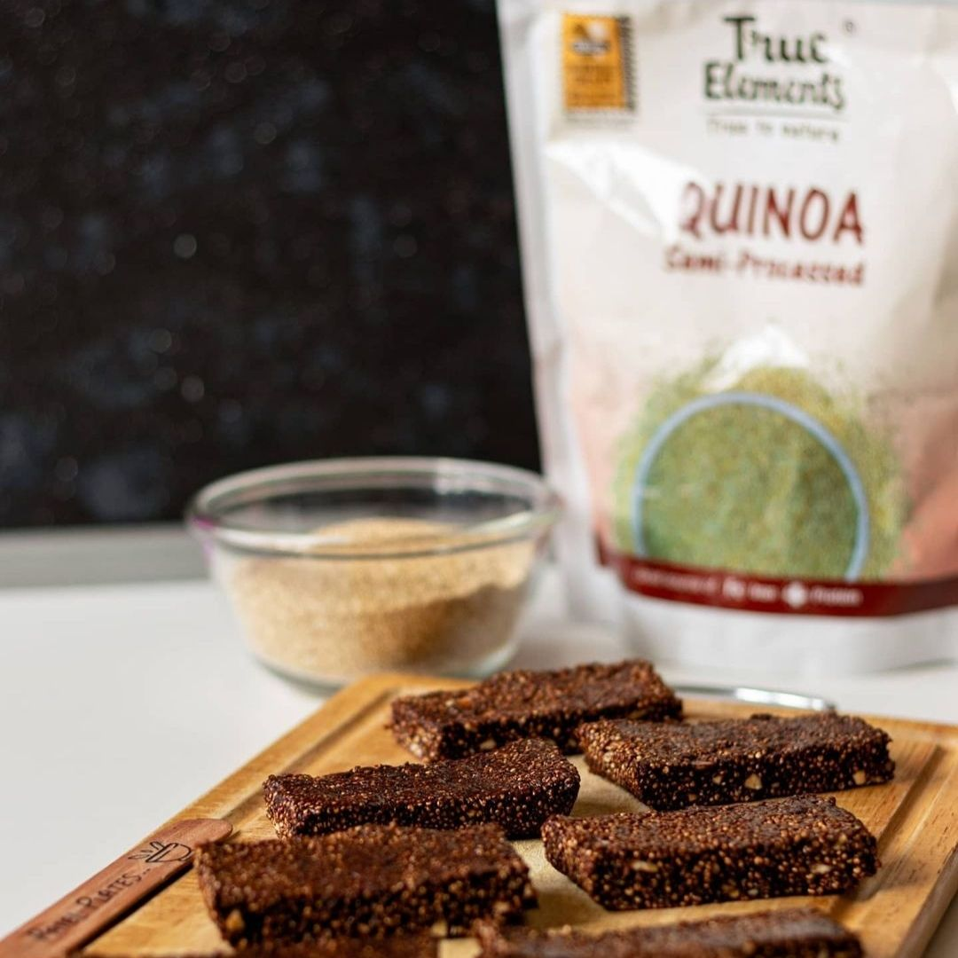 Quinoa Chocolate Bars