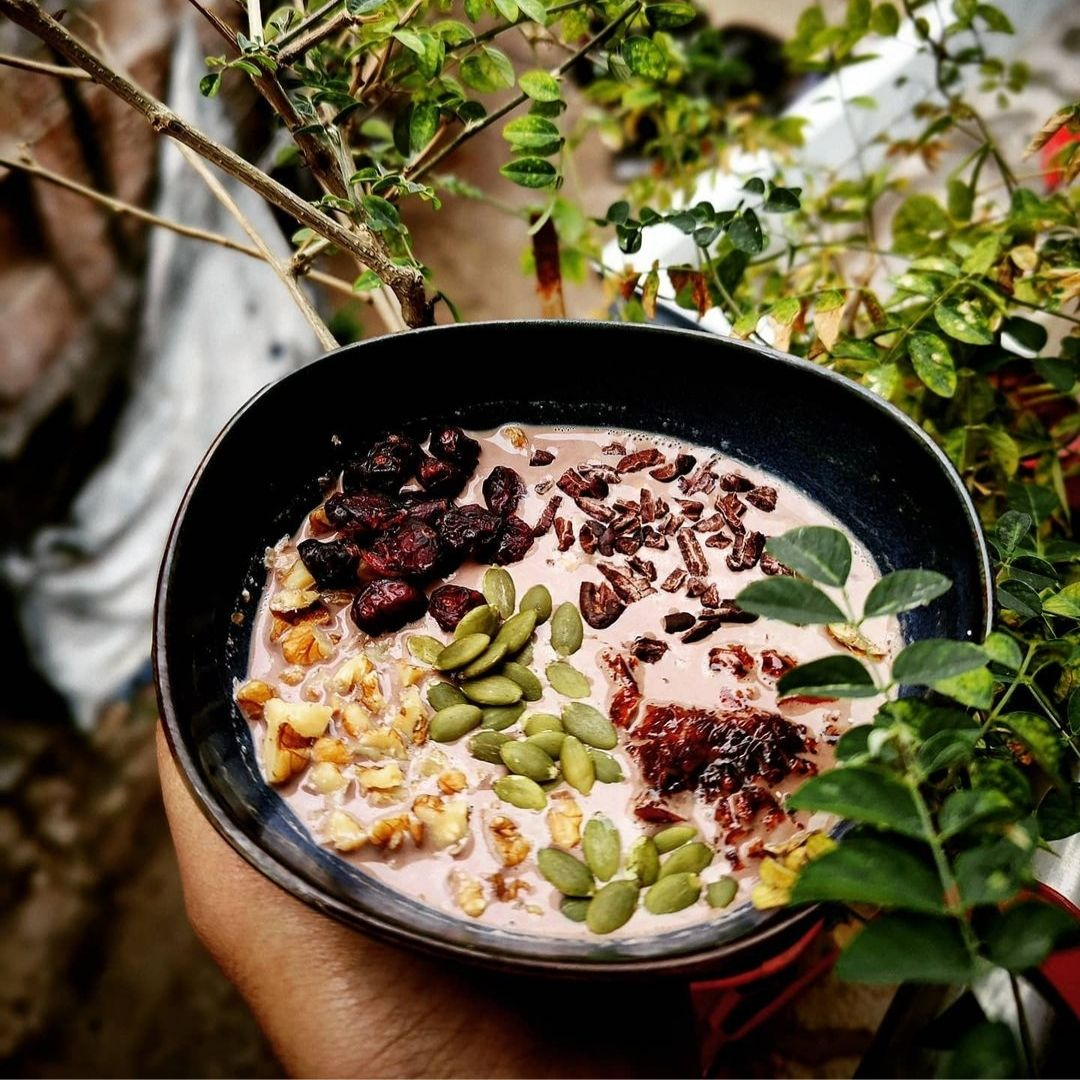 Rose & Cacao Oats