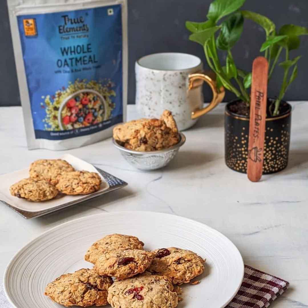 Whole Oatmeal Cookies