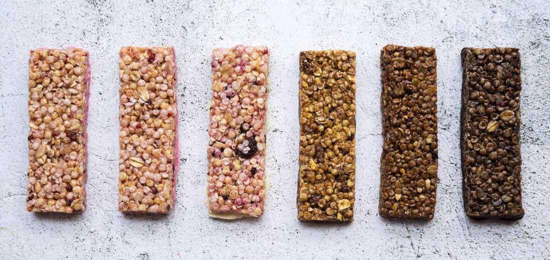 Quinoa Chia Protein Bars