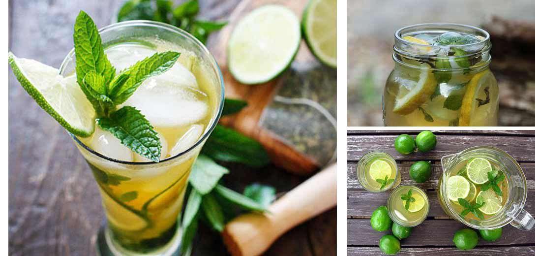 Tangy Green-Tea Cooler