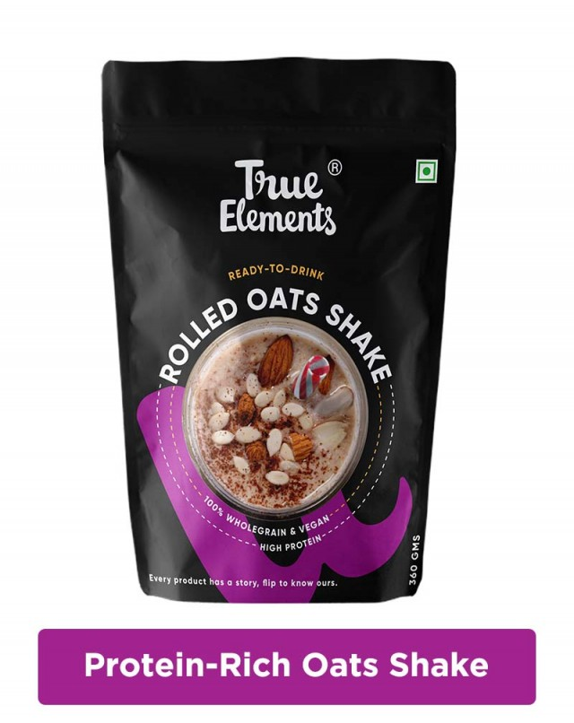 Rolled Oats Shake - Made with 16% Millet