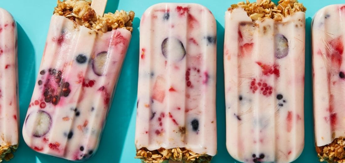 Muesli Ice-Cream Pops