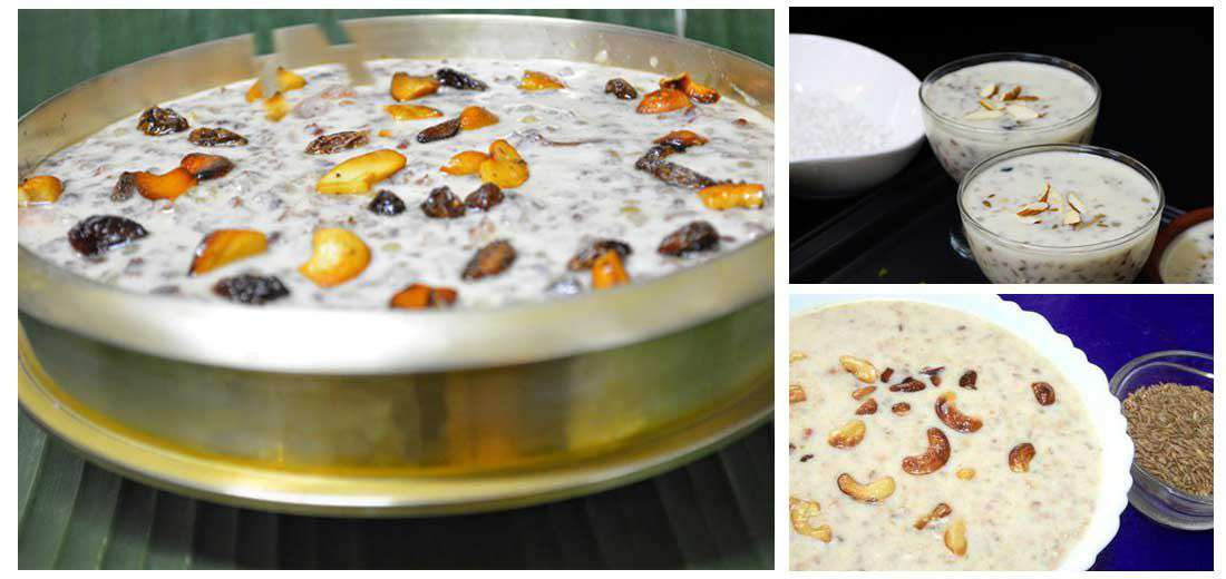 Bamboo Rice Payasam