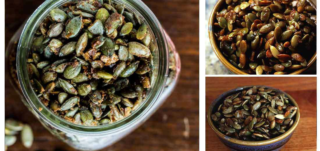 Caramel Pumpkin Seeds