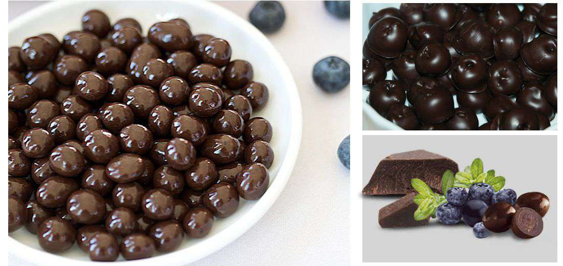 Choco Blueberries
