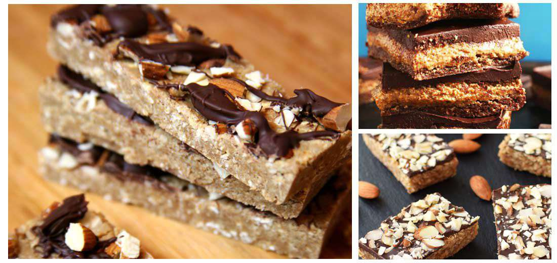 Vegan Almond Bars