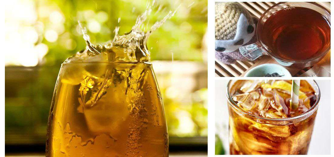 Zesty Oolong Iced Tea